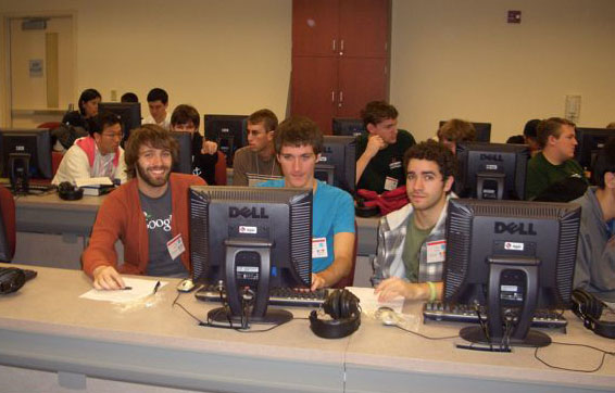 """""""Semicolons of Fury"""" was the name of my programming team in the ACM collegiate programming contest. We placed Cal Poly third in the Southern California Regionals."""