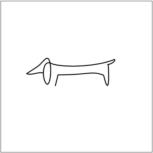 Bezier dog