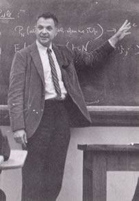 Herbet Robbins, one of the first to study bandit learning algorithms.
