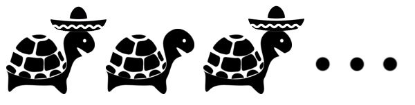 some turtles have sombreros