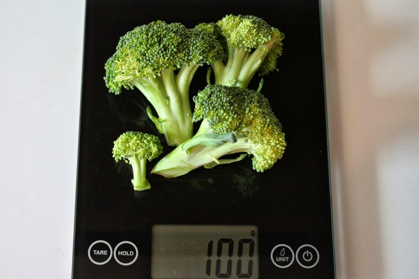 100-grams-broccoli