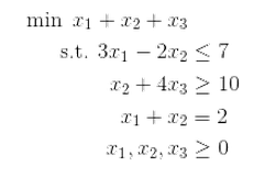 Linear Programming and the Simplex Algorithm – Math