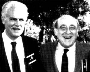 Irving Reed (left) and Gustave Solomon (right).